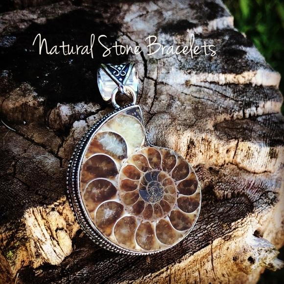 Jewelry - Ammonite Fossil Pendant